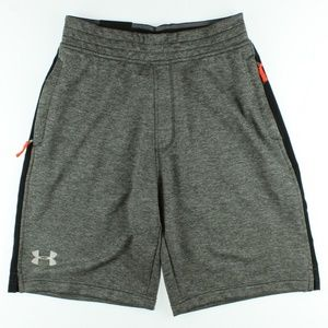 Under Armour Mens 10'' TechTerry Shorts Grey Black